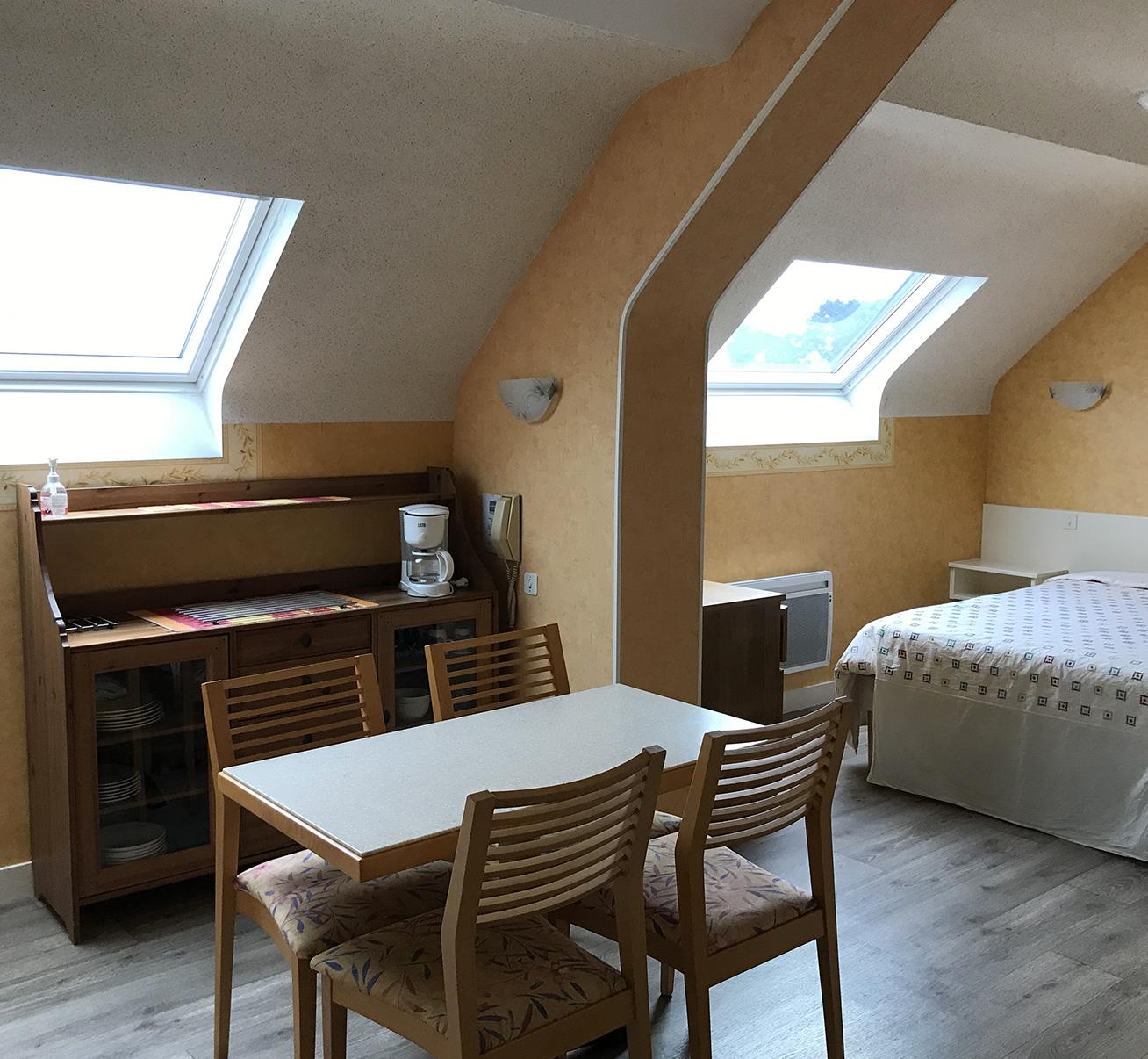 Appartement N°1 - 1 Lit double - Côté Jardin